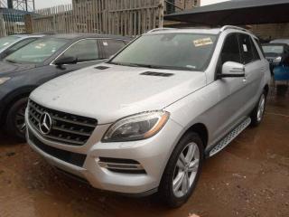 2014 Mercedes-Benz ML350 Silver
