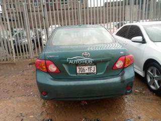 2010 Toyota Corolla Green
