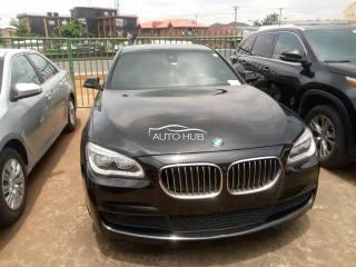 2015 BMW 750i Black