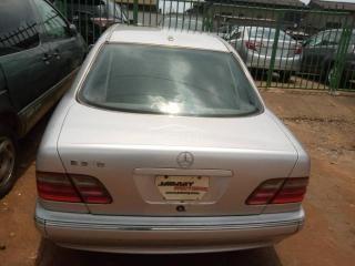 2004 Mercedes Benz E320 Silver