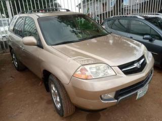 2005 Acura MDX Gold