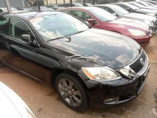 2010 Lexus GS350 black