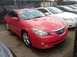 2004 Toyota Solara Red