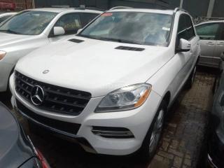 2015 Mercedes-Benz ML350 White