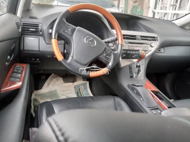 2010 Lexus RX350 Silver