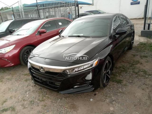 2018 Honda Accord Black
