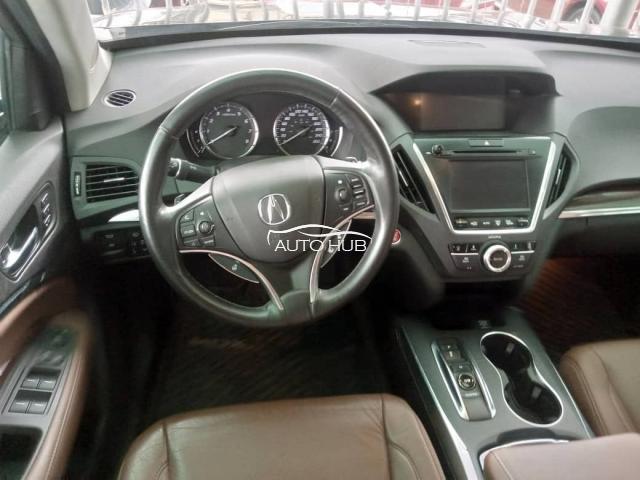 2017 Acura MDX Black