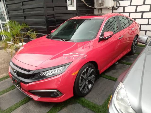 2019 Honda Civic  Red