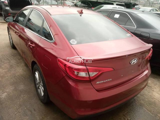 2016 Hyundai Sonata Red
