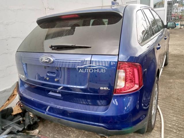 2013 Ford Edge Blue