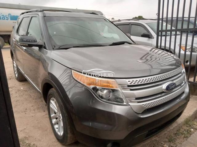 2013 Ford Explorer Grey