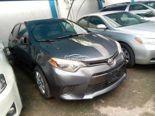 2016 Toyota Corolla Grey