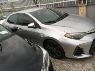 2017 Toyota Corolla Sports Silver