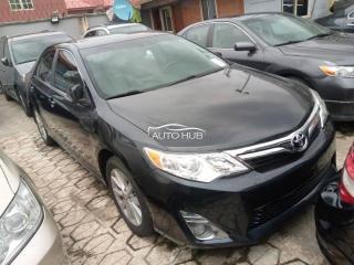 2012 Toyota Camry XLE Black