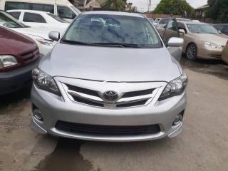 2013 Toyota Corolla Sport Silver